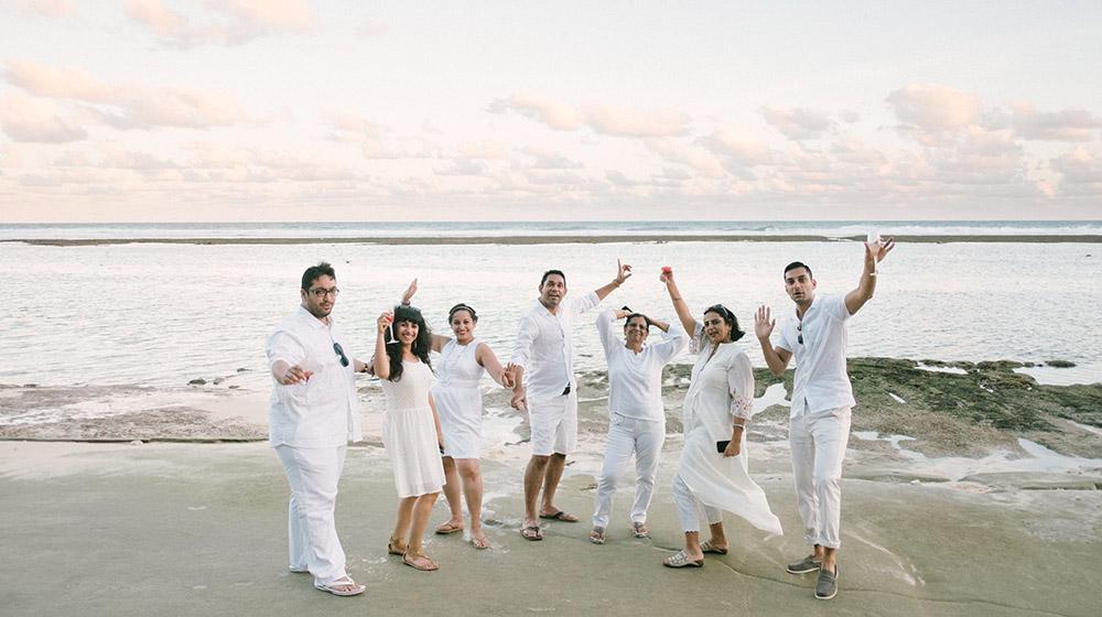 bali beach wedding photography at karma kandara