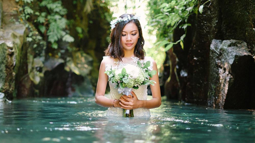 sunrise prewedding photography in ubud bali