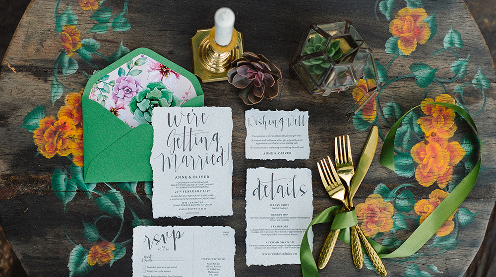 bali bohemian chic wedding