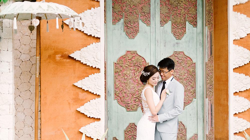 bali wedding photography at pandawa cliff estate