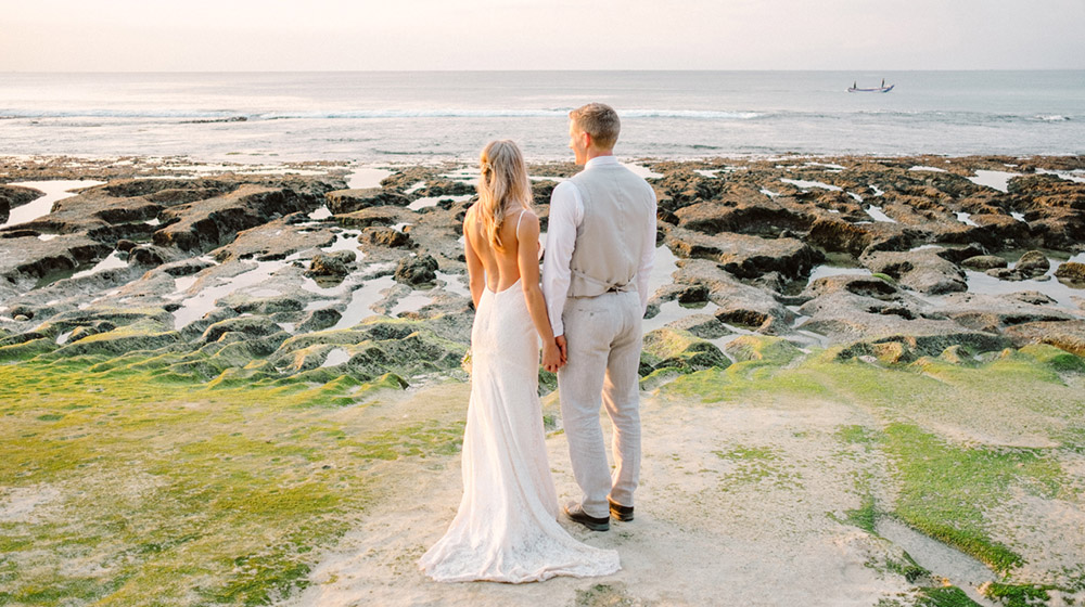 bali beach wedding balangan