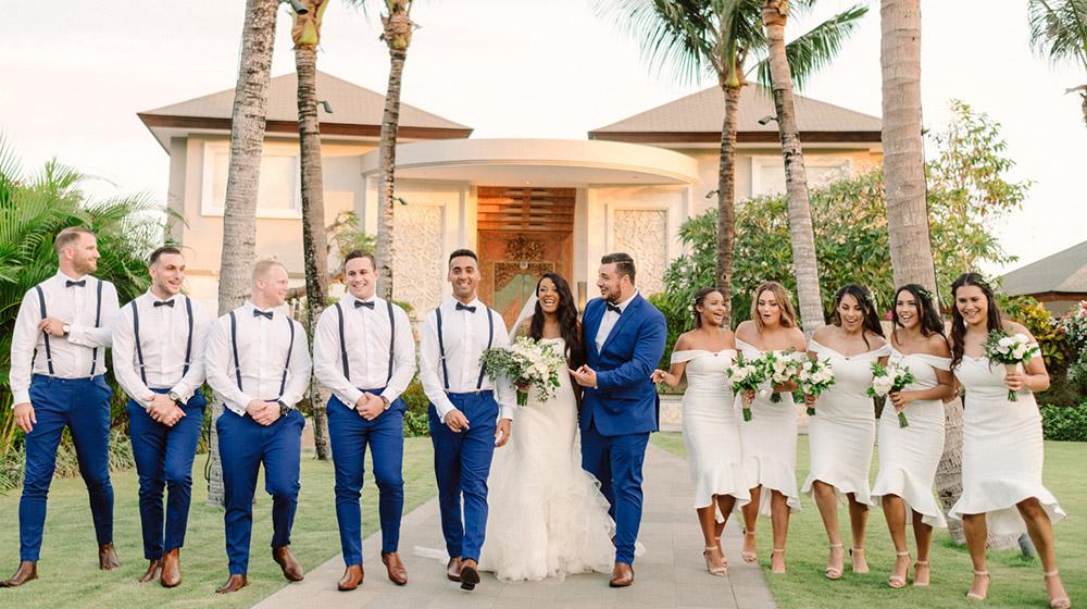 bali cliff top wedding photography
