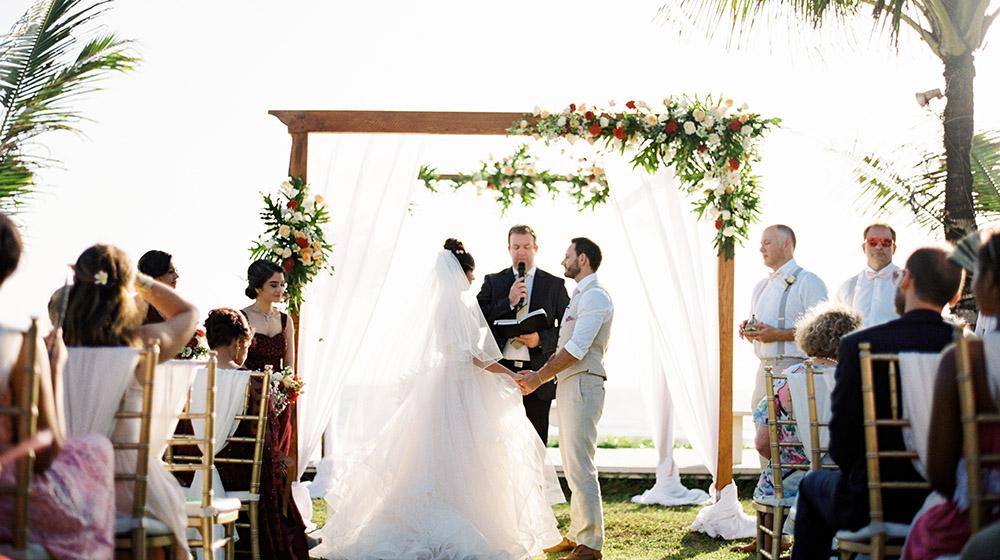 getting married in bali