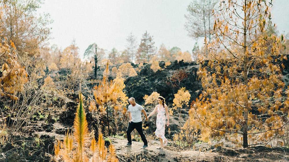 mount batur bali engagement photography