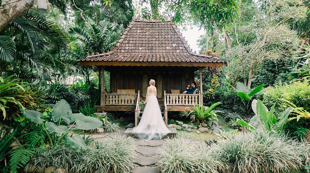 ubud wedding at villa beji indah