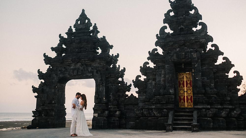 romantic bali honeymoon photography