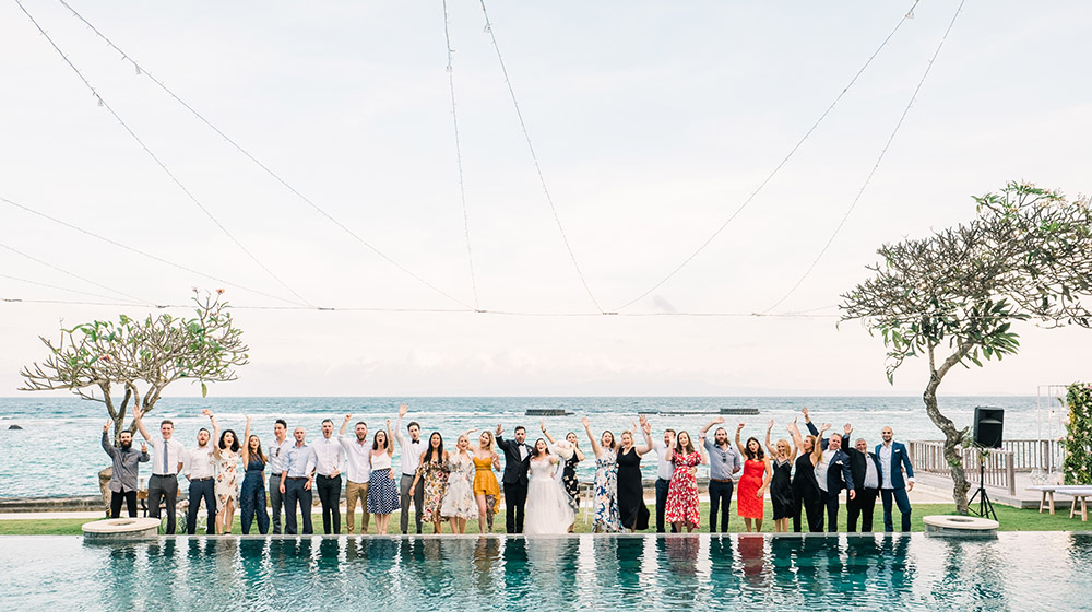 beachside candidasa bali wedding photography
