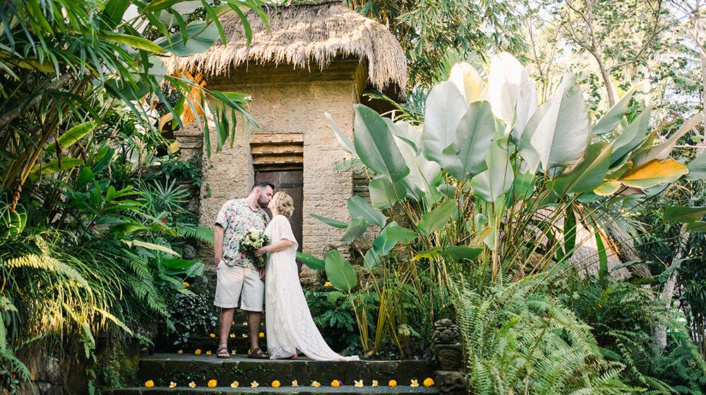 ubud villa wedding photography