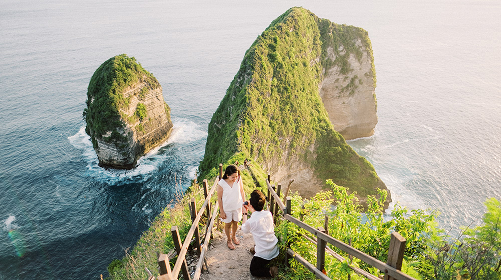 nusa penida surprise proposal