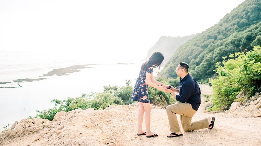 bali surprise proposal