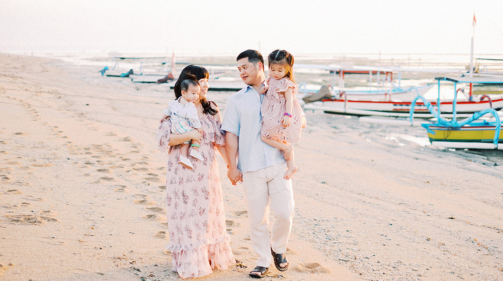 family session in bali