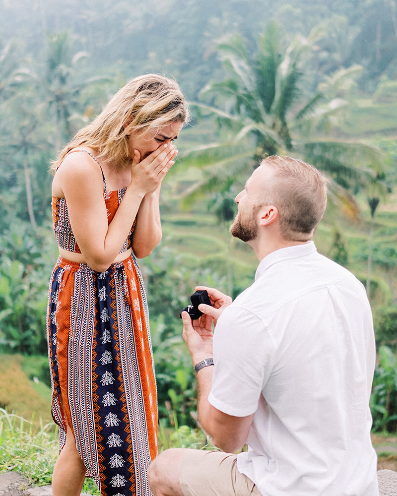 proposal photography in bali
