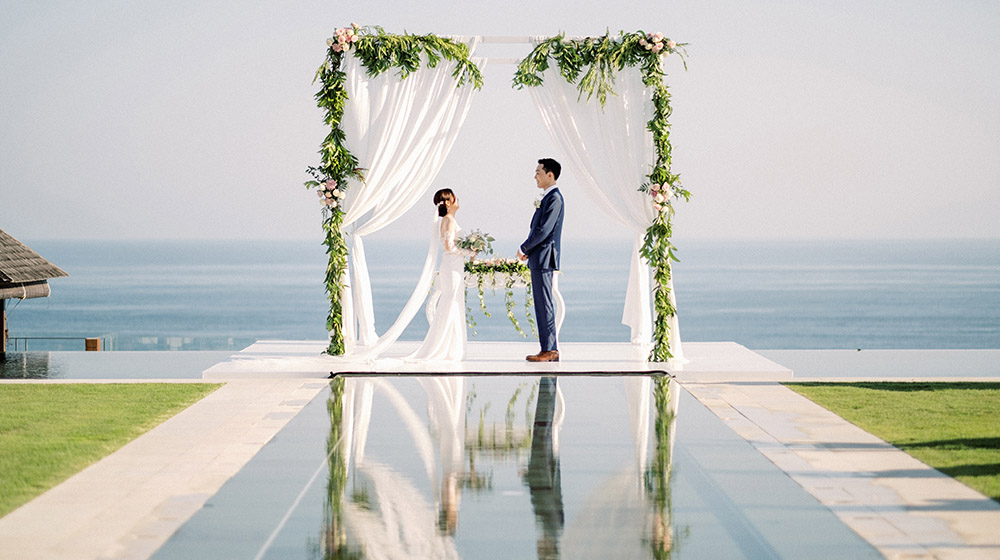 korean wedding in bali