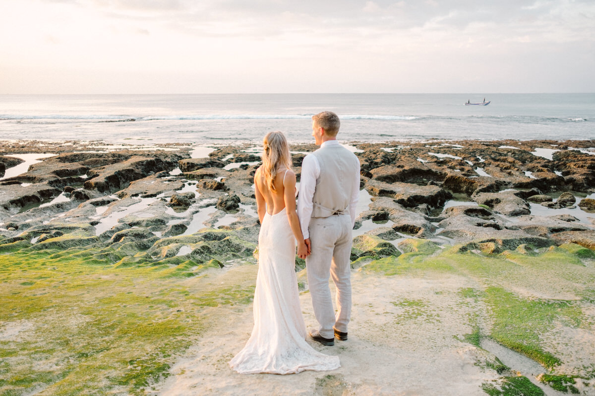 balangan beach elopement
