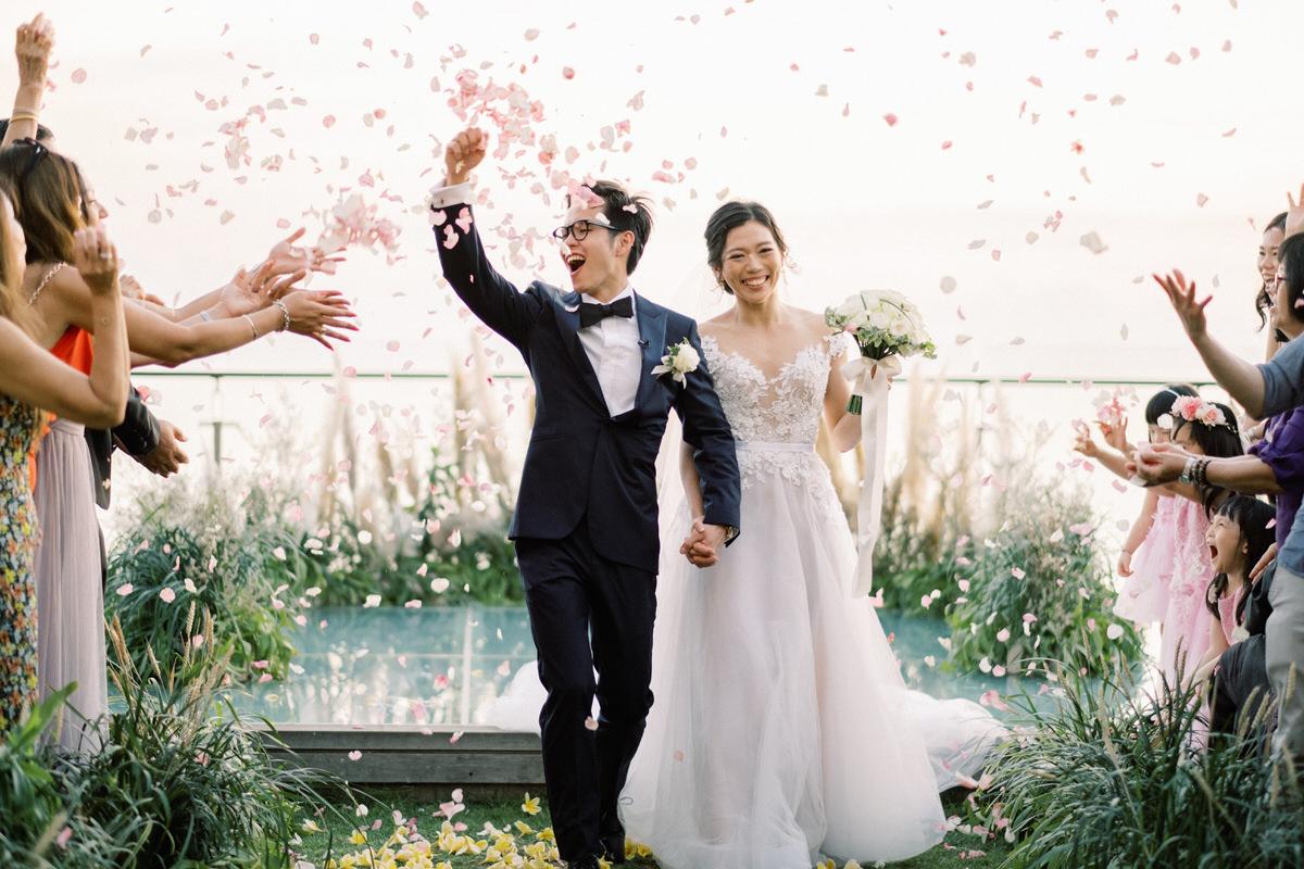 bali wedding timeline