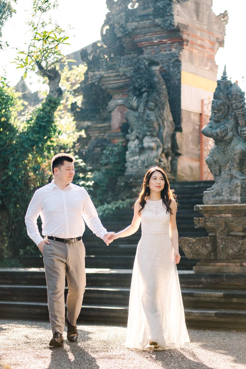 ubud temple prewedding