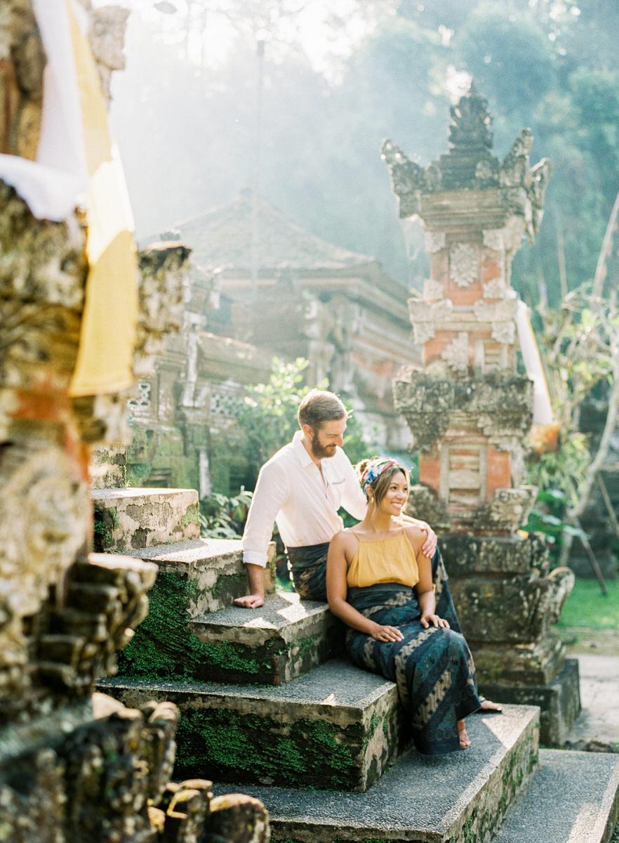 balinese temples in ubud honeymoon