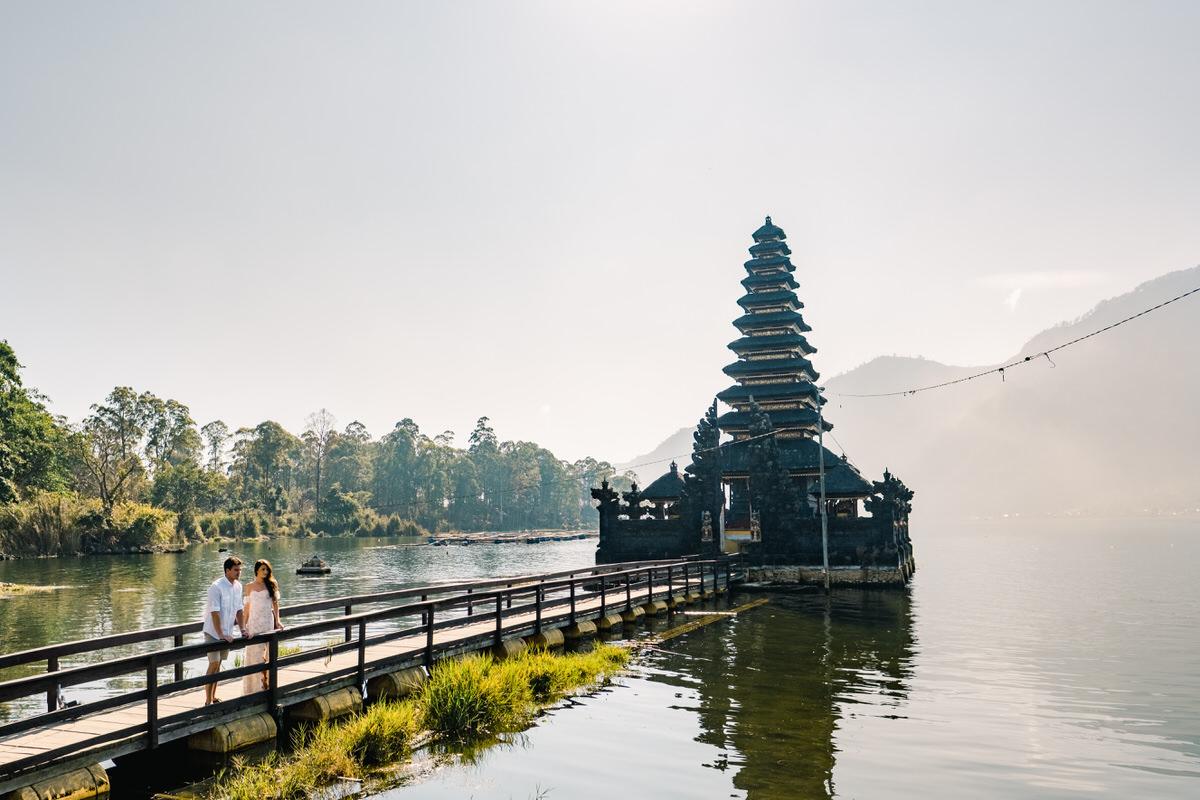 batur lake kintamani prewedding