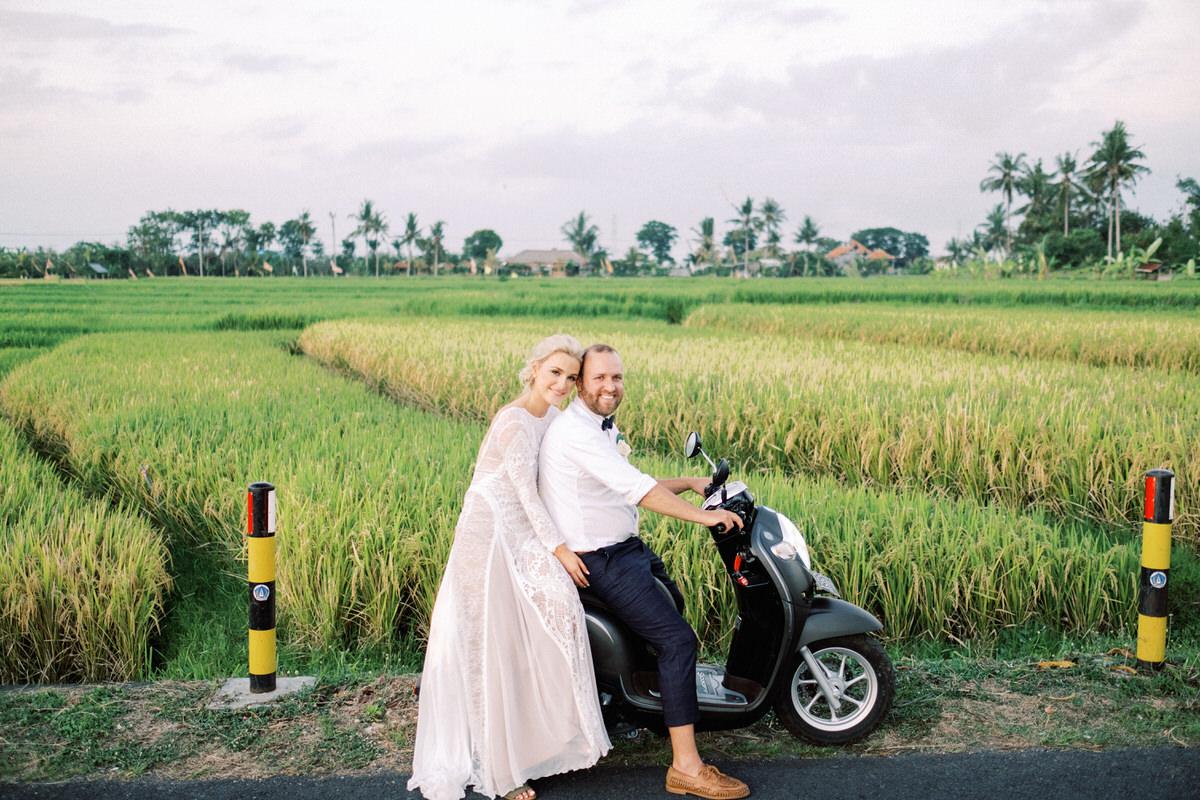 canggu villa wedding