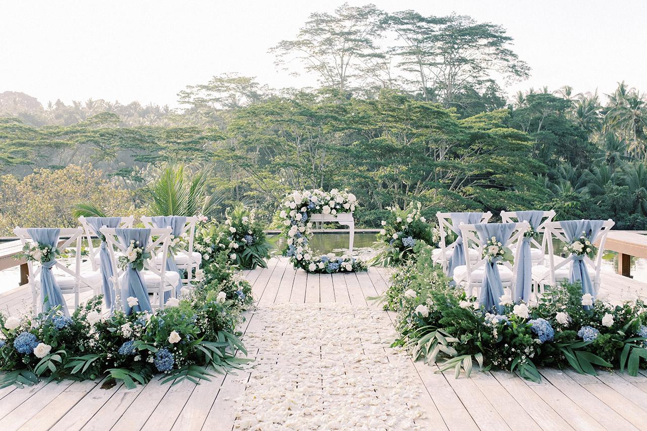 four seasons sayan bali wedding venue