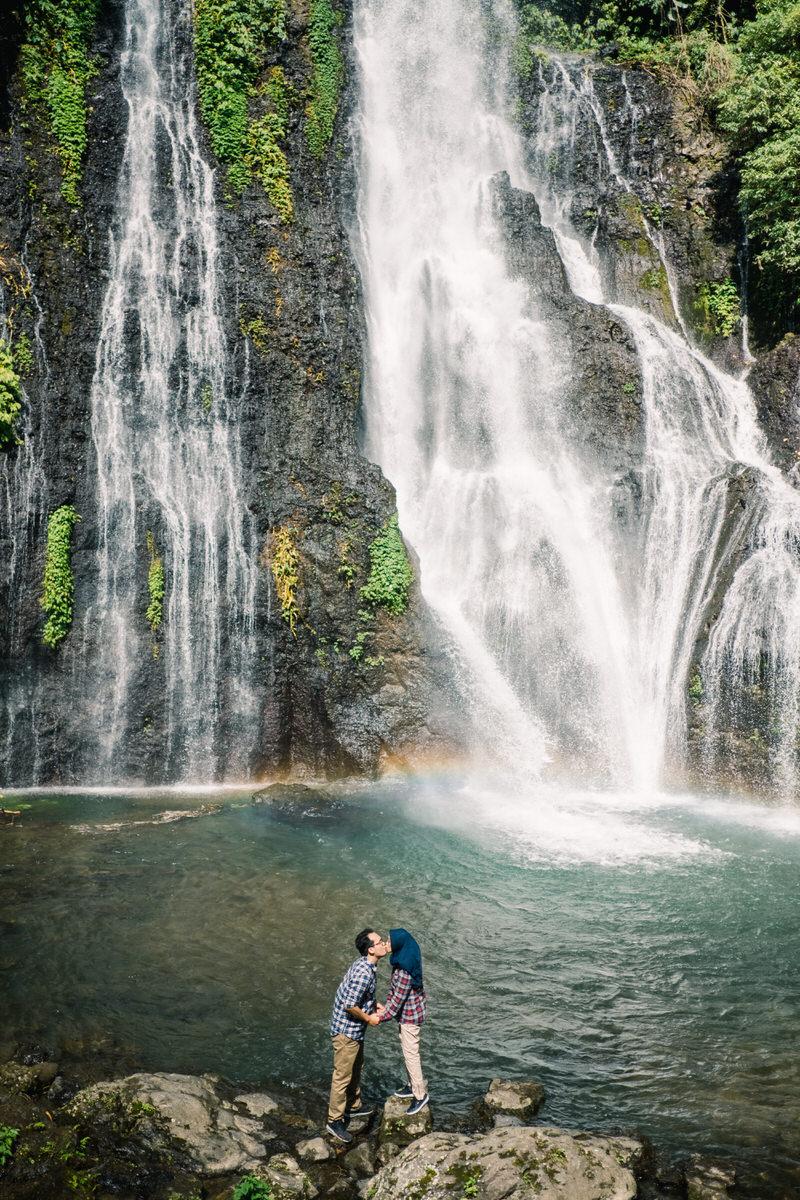 northern bali waterfall photo spots
