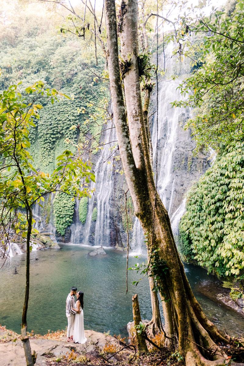 banyumala waterfall prewedding
