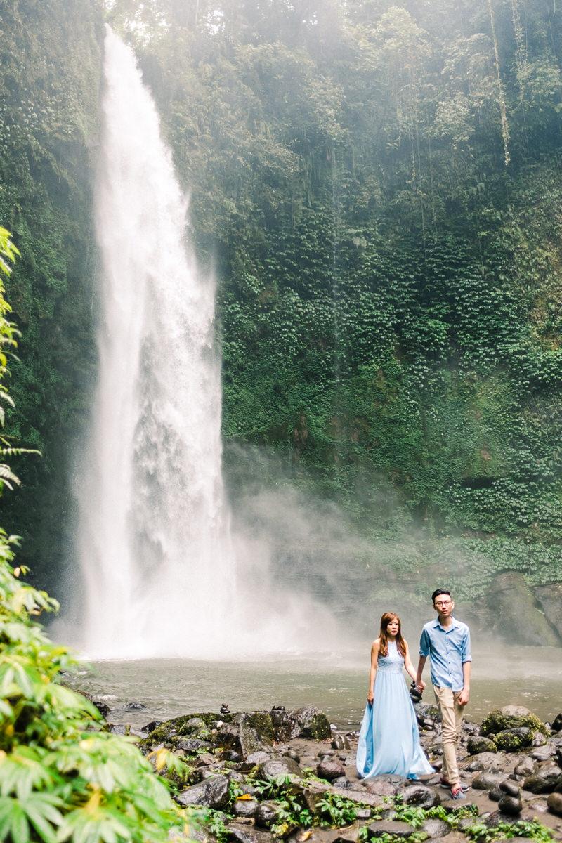 nungnung waterfall prewedding