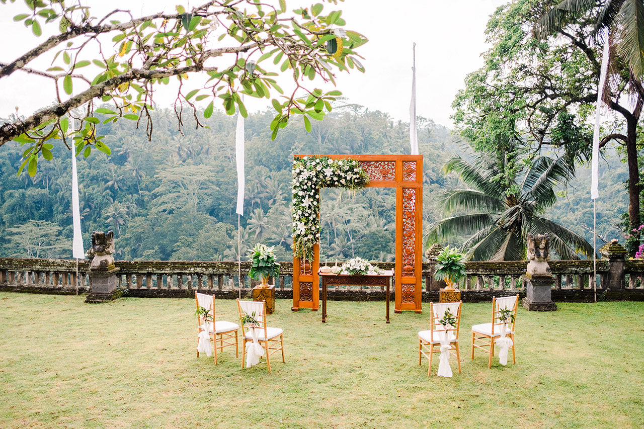 puri wulandari resort wedding seat