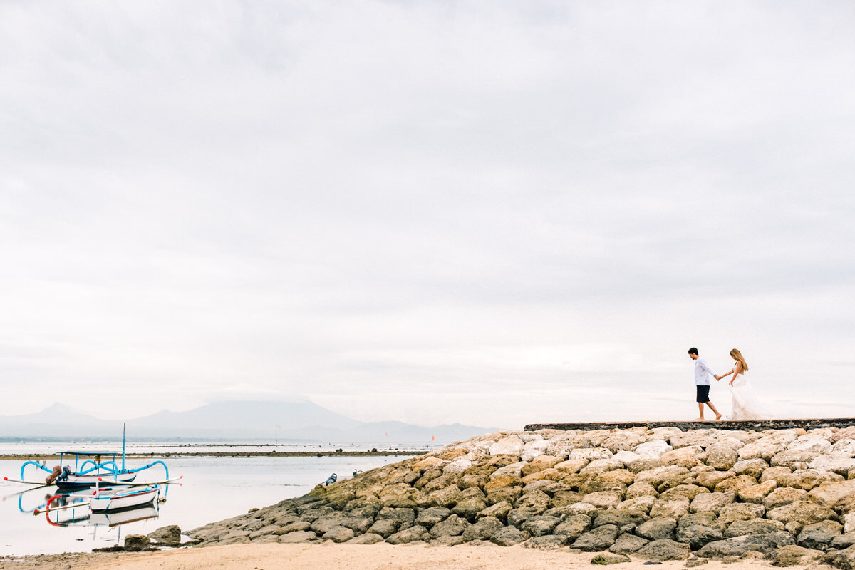 sanur beach prewedding
