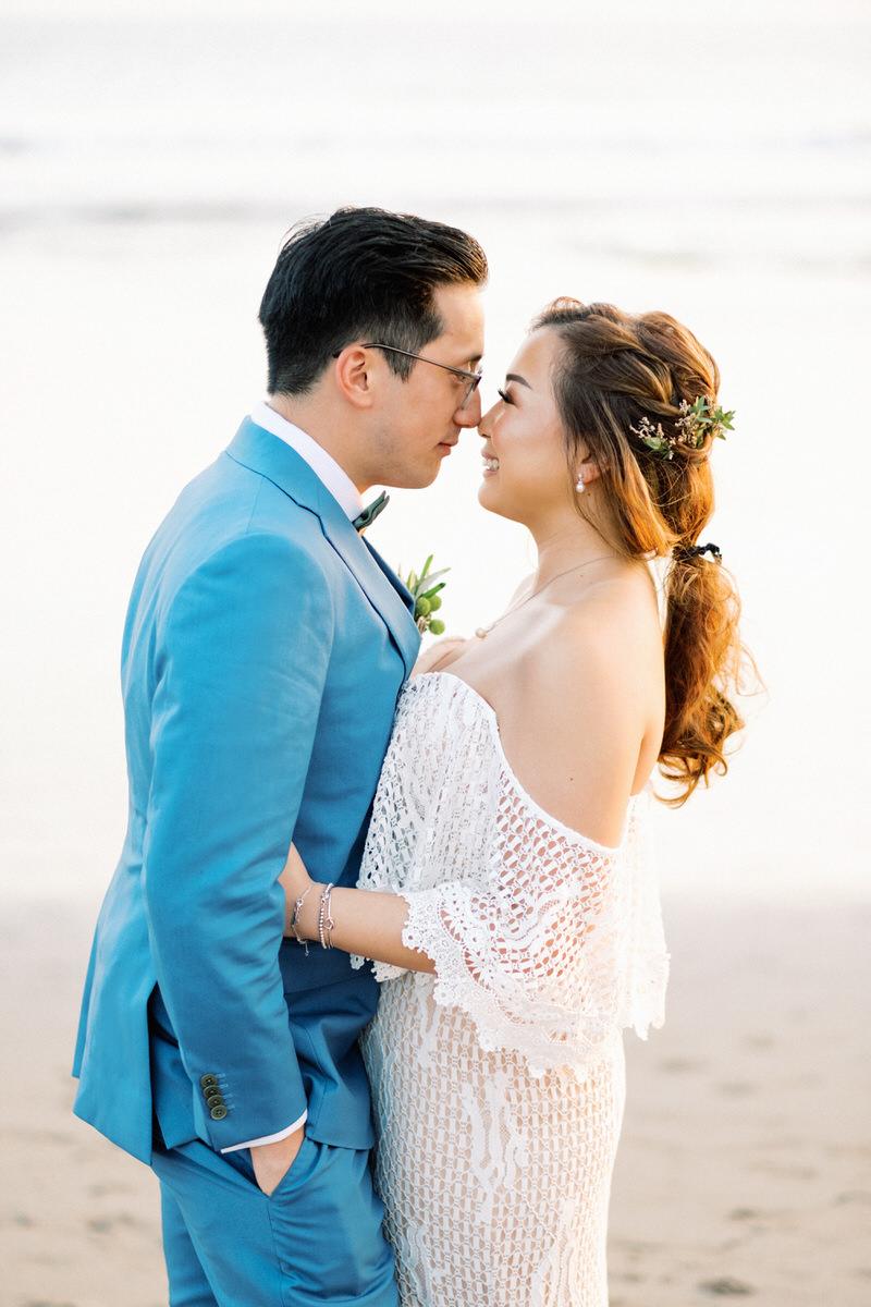 seminyak beach wedding