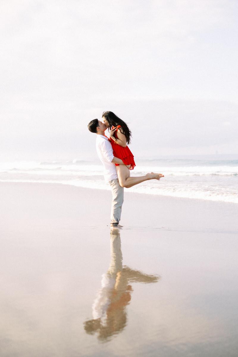 seminyak beach photo spot