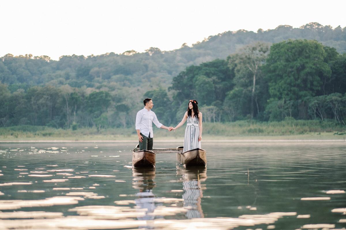 tamblingan lake bedugul prewedding