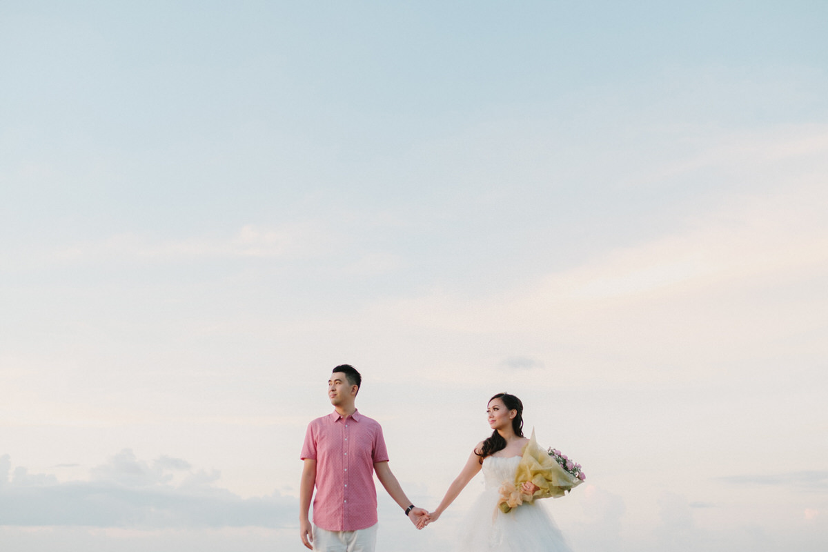 tegal wangi beach prewedding