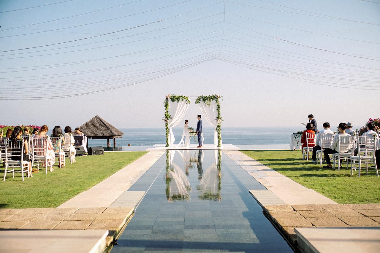 the surga villa estate bali wedding venue