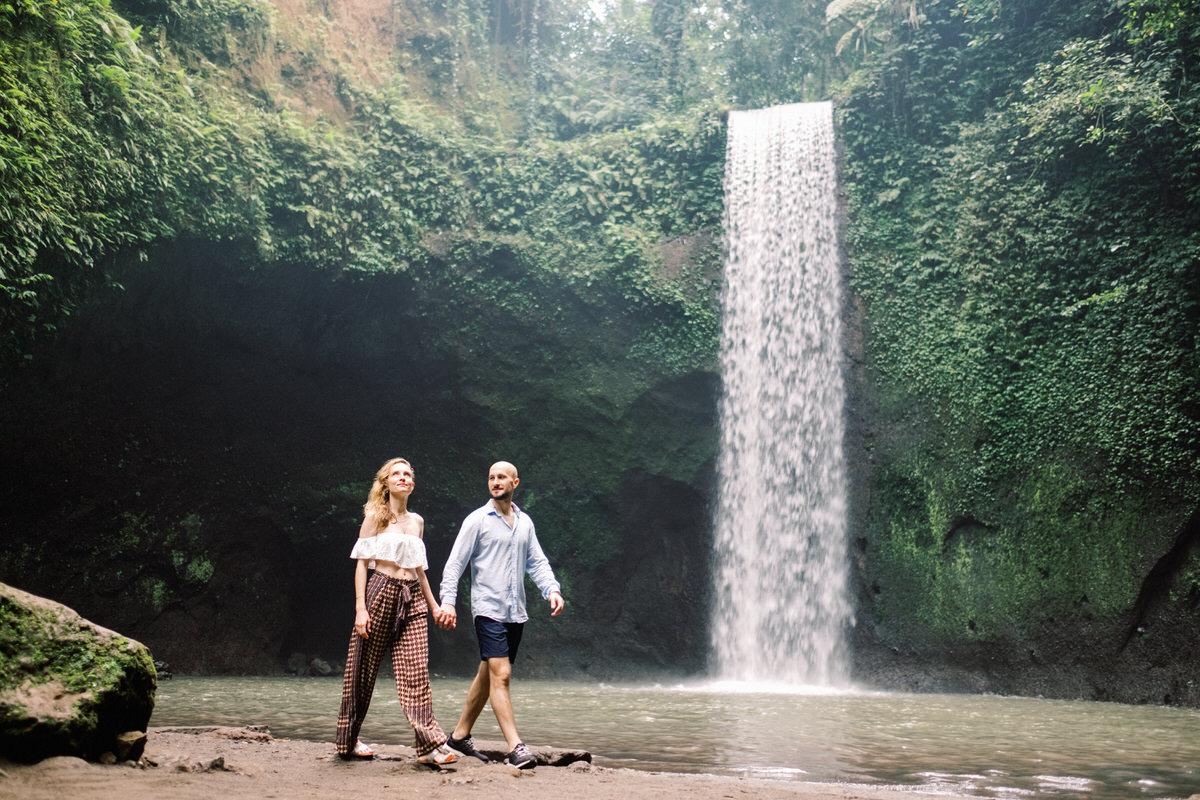 tibumana waterfall engagement