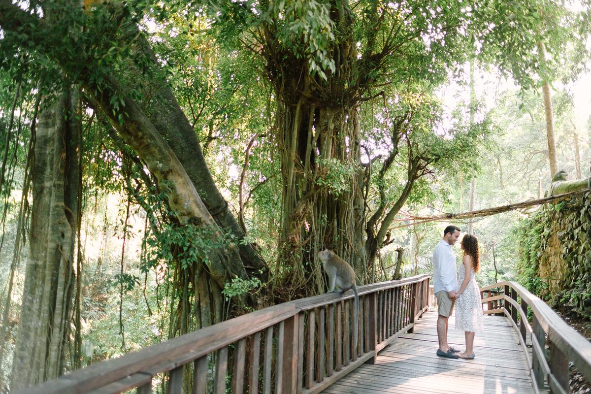 ubud monkey forest honeymoon