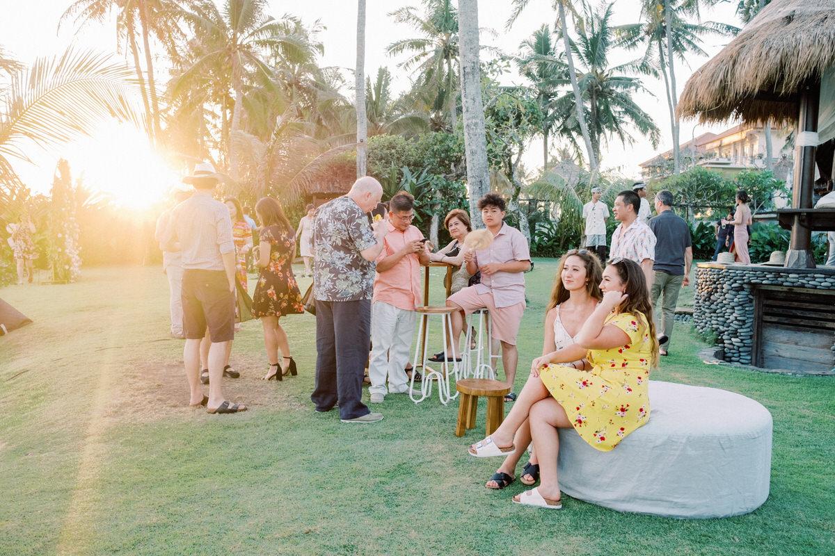 Taman Ahimsa Villa Canggu Wedding Venue
