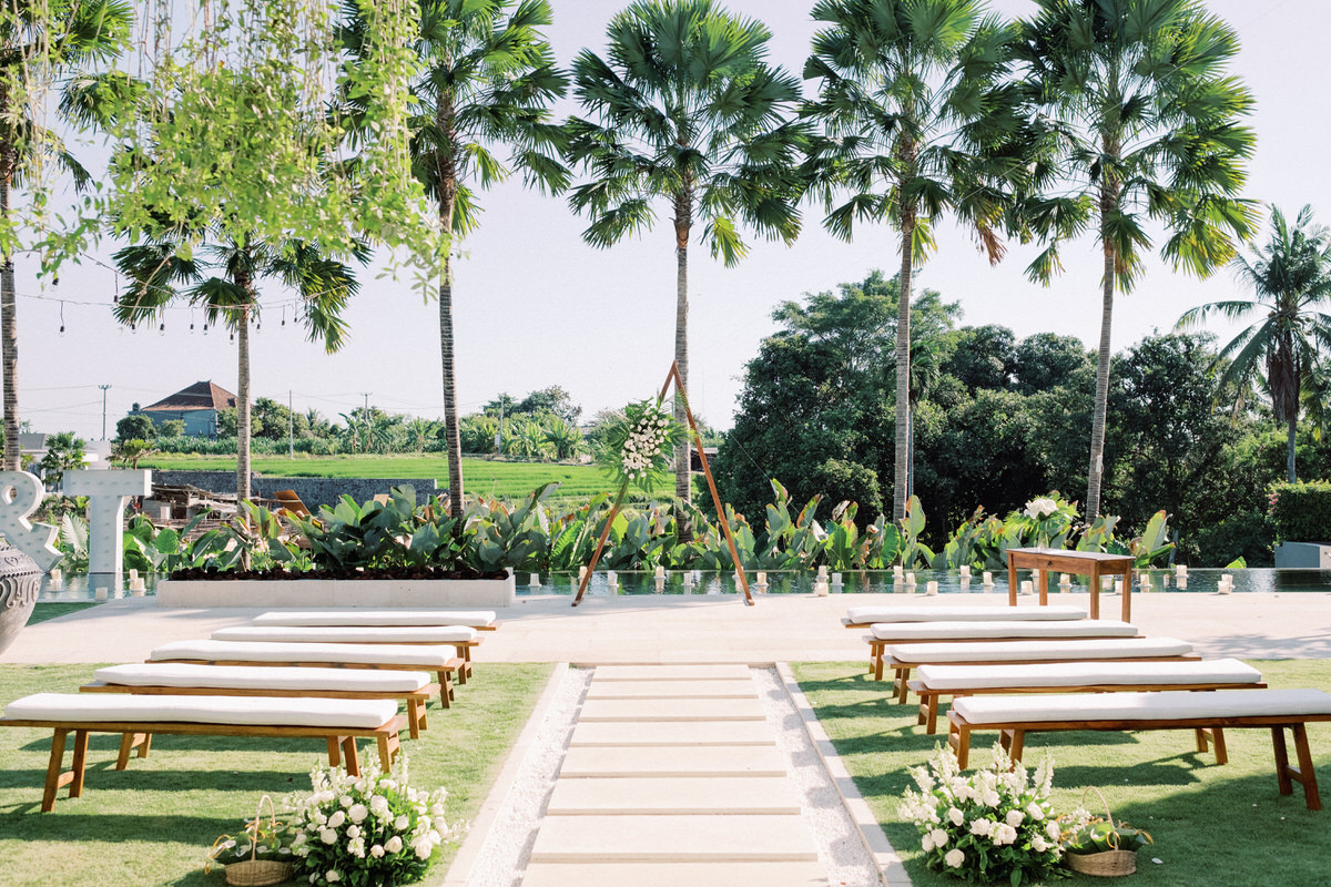 villa canggu wedding venue