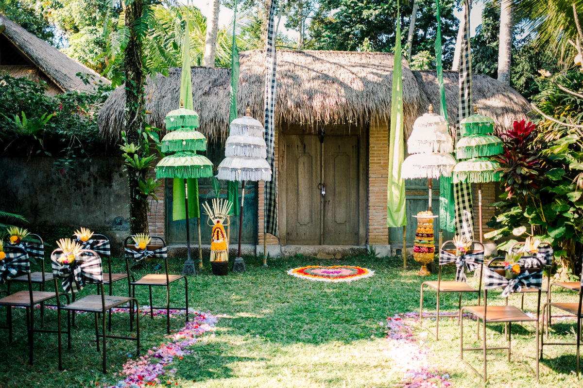 traditional bali wedding decor inspirations