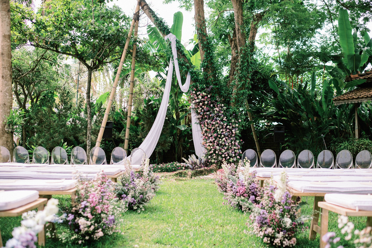 whimsical bali wedding decor inspirations