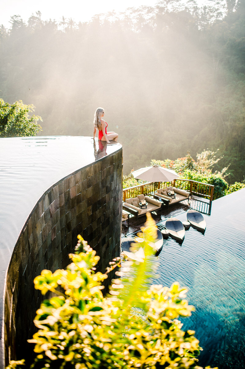 ubud best infinity pool