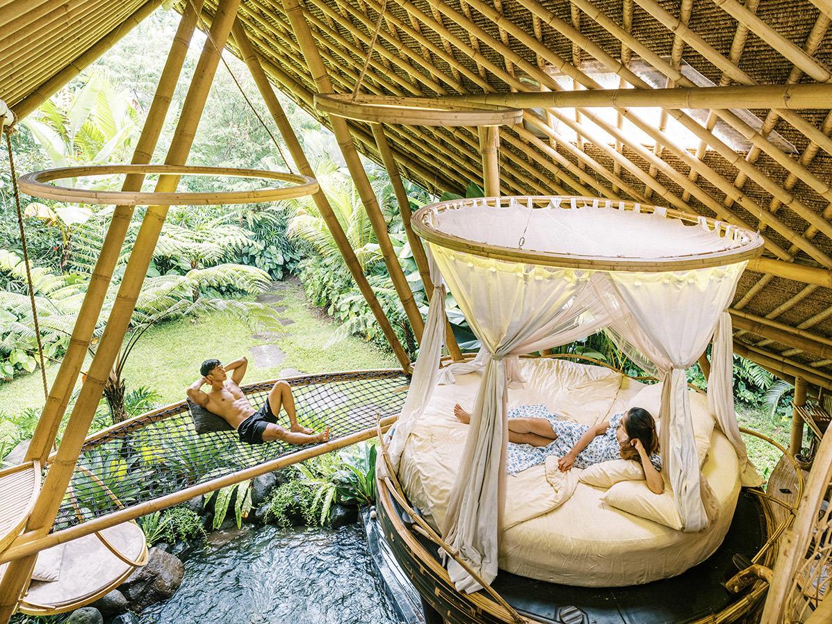 Eco Bamboo House Hideout Bali