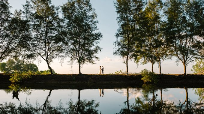 Serangan Island Prewedding shoot