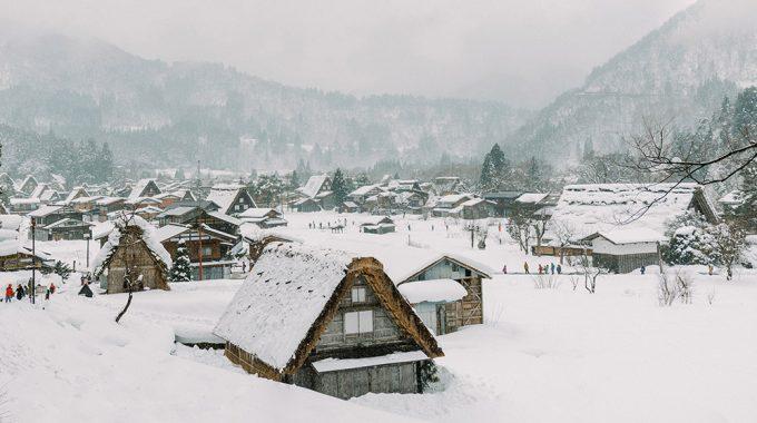 Winter Vacation in Shirakawa Go