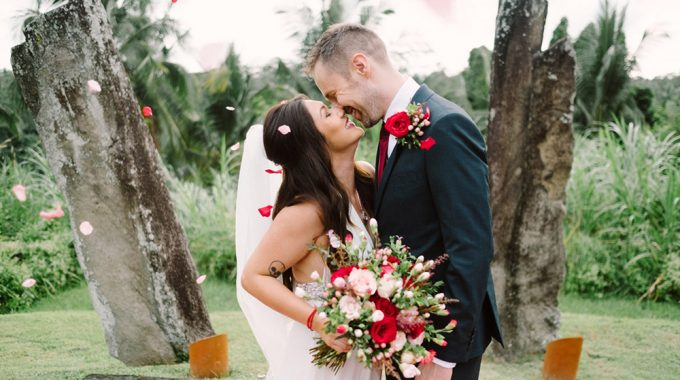 Alila Ubud Romantic Rice field elopement