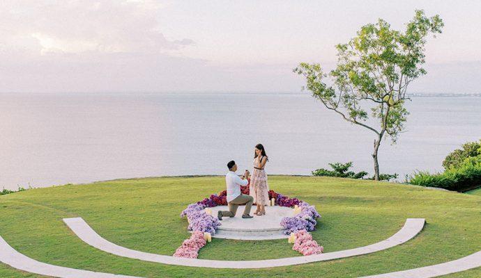 ayana resort surprise proposal
