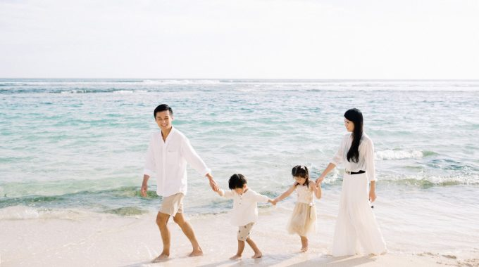 bali family vacation photo
