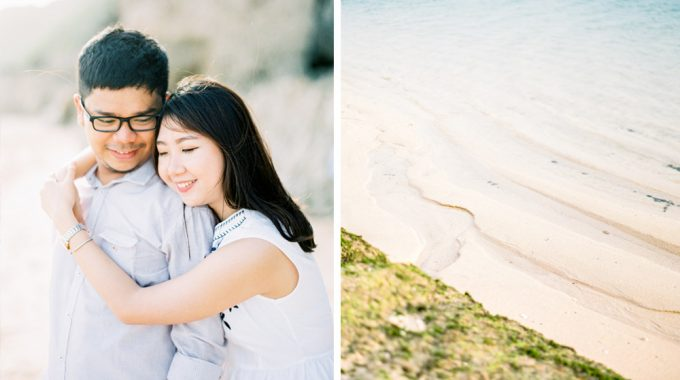 bali fine art film engagement photography