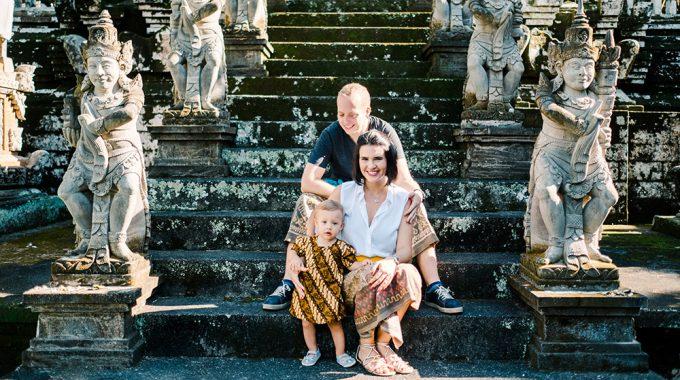 bali holiday family photo session