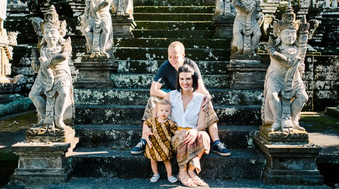 bali holiday family photo session